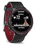 Garmin Forerunner 235 Schwarz und Marsala-Rot - GPS-Laufuhr mit...