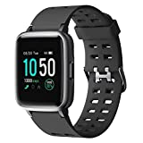 YAMAY Smartwatch,Fitness Armband Uhr Voller Touch Screen...